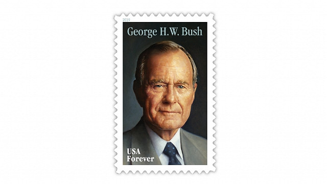 George H.W. Bush stamp will be issued June 12